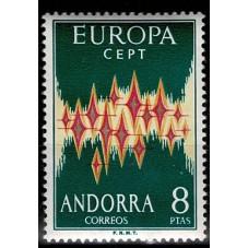 1972 ANDORRA SPAGNOLA...