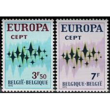 1972 BELGIO EUROPA CEPT...