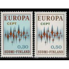 1972 FINLANDIA EUROPA CEPT...