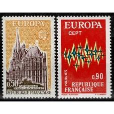 1972 FRANCIA EUROPA CEPT...