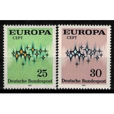 1972 GERMANIA EUROPA CEPT...