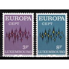 1972 LUSSEMBURGO EUROPA...