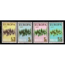 1972 MALTA EUROPA CEPT...