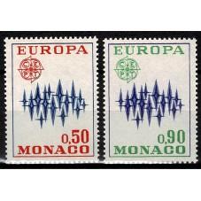 1972 MONACO EUROPA CEPT...
