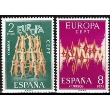 1972 SPAGNA EUROPA CEPT...