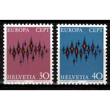 1972 SVIZZERA EUROPA CEPT...
