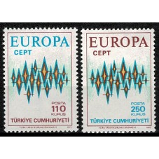 1972 TURCHIA EUROPA CEPT...