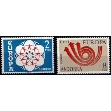 1973 ANDORRA SPAGNOLA...