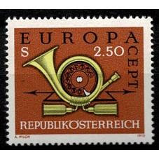 1973 AUSTRIA EUROPA CEPT...