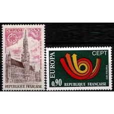 1973 FRANCIA EUROPA CEPT...