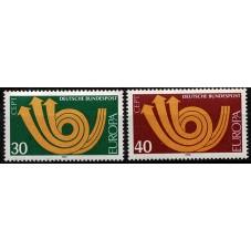 1973 GERMANIA EUROPA CEPT...