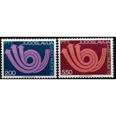 1973 JUGOSLAVIA EUROPA CEPT...