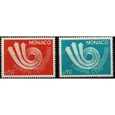 1973 MONACO EUROPA CEPT...