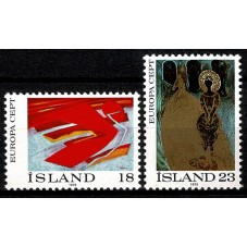1975 ISLANDA EUROPA CEPT...