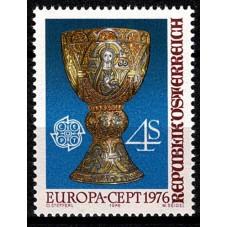 1976 AUSTRIA EUROPA CEPT...