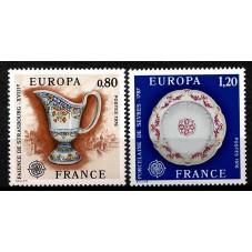 1976 FRANCIA EUROPA CEPT...