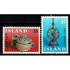 1976 ISLANDA EUROPA CEPT...