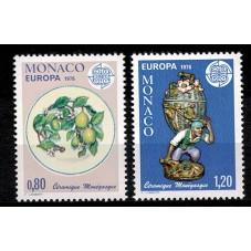 1976 MONACO EUROPA CEPT...