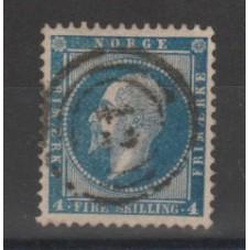 1856 NORVEGIA NORGE  OSCAR...