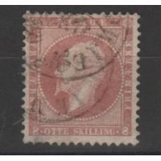 1856 NORVEGIA NORGE OSCAR I...