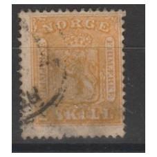 1863 NORVEGIA NORGE STEMMA...
