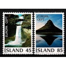 1977 ISLANDA EUROPA CEPT...