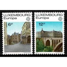 1977 LUSSEMBURGO EUROPA...