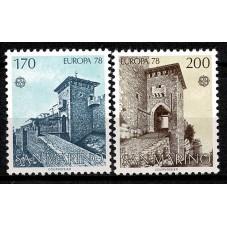 1978 SAN MARINO EUROPA CEPT...