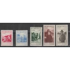1931 ROMANIA SCOUT 5 VALORI...