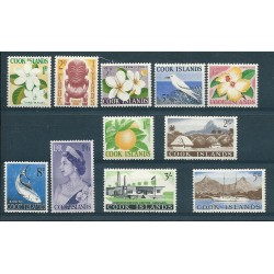 COOK ISLANDS 1963 ELIZABETH...