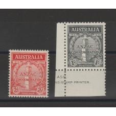 1935 AUSTRALIA  20 ANNIV ....
