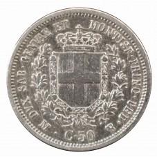 1860 REGNO SARDEGNA MONETA...