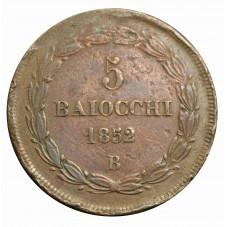 1852 STATO PONTIFICIO PIO...