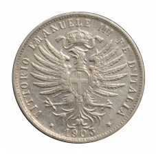 1903 REGNO D'ITALIA MONETA...