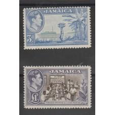 JAMAICA 1949 GEORGE VI...