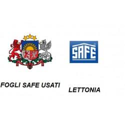 LETTONIA 1992-1998 FOGLI...