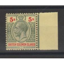 BRITISH SOLOMON 1923...