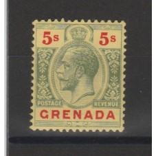 1913 GRENADA 5 s. GIORGIO...