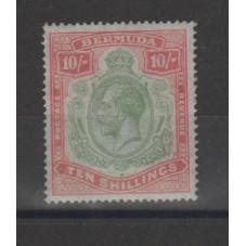 BERMUDA 1910-20 GEORGE V°...