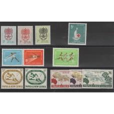 PAPUA  NEW GUINEA 1962-63...