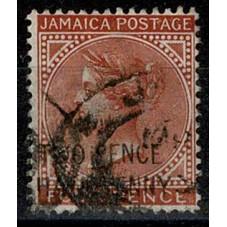 JAMAICA 1890 VICTORIA...