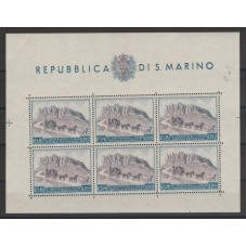 1951 SAN MARINO BF UPU LIRE...