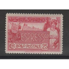 1907 SAN MARINO ESPRESSI...