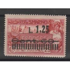 1927 SAN MARINO ESPRESSI...