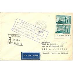 1958 FDC ITALIA AMICIZIA...