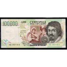 1997 BANCONOTA LIRE 100000...
