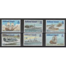 FALKLAND ISLANDS DEP 2001...