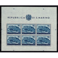1950 SAN MARINO BF UPU LIRE...