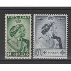 1949 MALTA  GIORGIO VI...