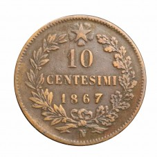 1867 REGNO D'ITALIA MONETA...